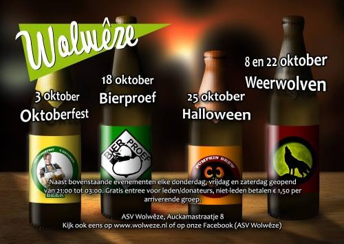 Evenementen Poster Oktober